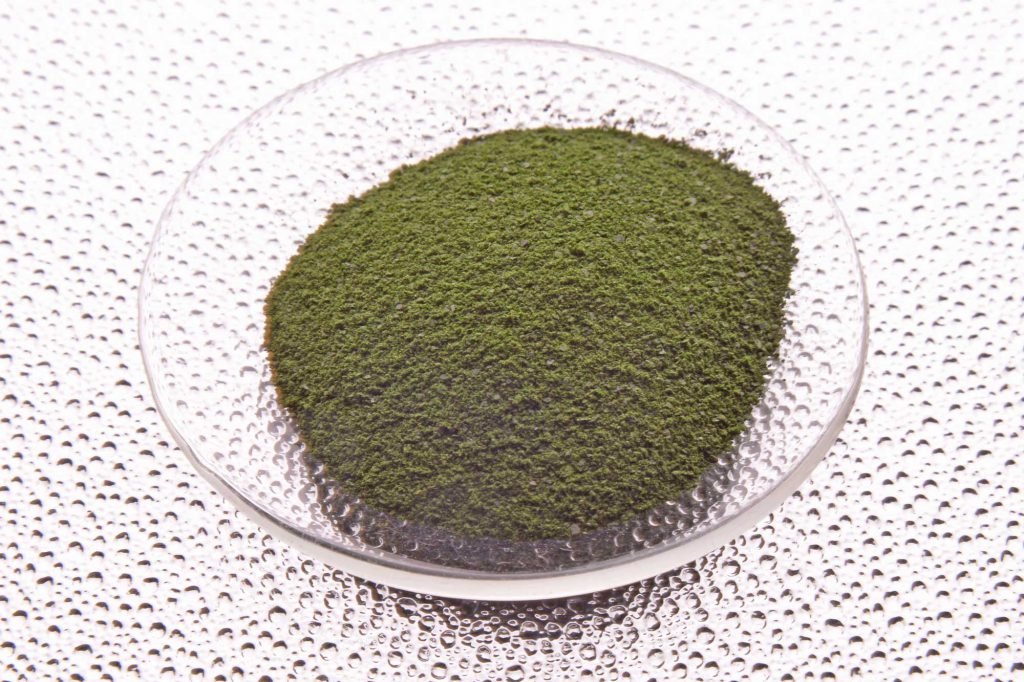Lyophilized microalgae